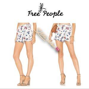 Free People Flirting Fleurs Skort